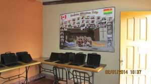 The new computer room in Corazon del Pastor!
