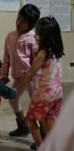 Karina dancing with Zamora